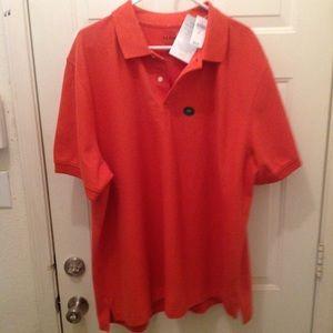 Men's XXL L.L. Bean polo orange shirt